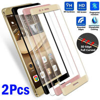 2Pcs 3D Full Cover Tempered Glass Screen Protector For Huawei P10 Honor 8 9 Lite