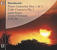 Shostakovich: Piano Concertos Nos. 1 and 2 / Cello Concerto No. 1 [CD]