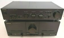 Technics Stereo Power Amplifier SE-M100 & Technics SU-A40 Control Amplifier