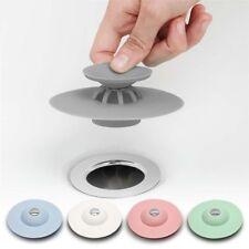Silicone Bath Sink Strainer Waste Plug Floor Drain Filter Hair Catcher Stopper