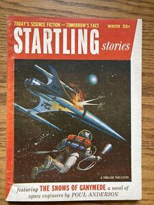 Startling Stories Winter 1955 Vol.32 #3 Philip K.Dick Human Is Poul Anderson
