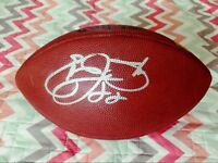 Emmitt Smith Signed Autographed Wilson NFL Game Used Football -Actual Game Used
