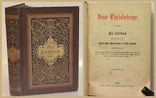 Kögel/ Baur/ Frommel Neue Christoterpe 1883 Religion Christentum Theologie xy