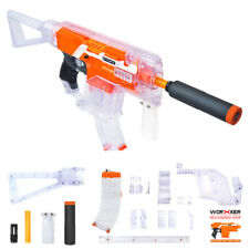 Worker MOD Clear Kriss Vector Imitation Kit 12 Items for Nerf STRYFE Modify Toy