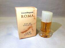 Roma Woman Donna Laura Biagiotti Profumo EDT 5ml Miniatura Mignon