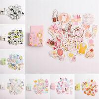 45x Kawaii Journal Diary Decor Flower Stickers Scrapbooking Stationery Supply JT