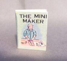 Dollhouse Miniature 1:12 Scale The Mini Maker Book