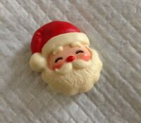 Hallmark PIN Christmas Vintage SANTA CLAUS Holiday Brooch