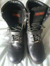 mens harley davidson boots 10.5 black, great condition. Great boots.