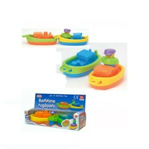 Fun Time Bathtime Tugboats,Floating Bath Toy,18+ months