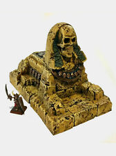 NEW Painted Undead Sphinx terrain for Warhammer / Warmachine / Tomb Kings
