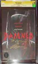 Batman Damned 1 CGC SS 9.9 signed Azzarello & Bermejo