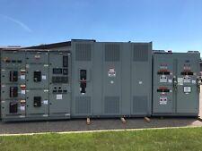 GE AKD-8 Main-Tie 3200A Switchgear W/2000/2667 Dry Type Transformer & Switches