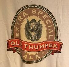 Vintage Shipyard Brewing Shirt, Old Thumper Ale, White, Men's Xl, Portland Maine