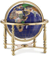 Replogle Globe - Compass Jewel Gemstone Globe, 9-Inch Diameter - Read *New-Other