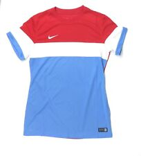New Nike Women's M USA SS Unite Mod Soccer Jersey Red / White / Blue $60 USWNT