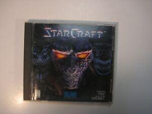 Starcraft  PC CDROM 1998 Windows RTS Game US Version