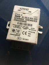 Original BMW 3er E46 Compact EWS Wegfahrsperre Steuergerät Siemens 6905669