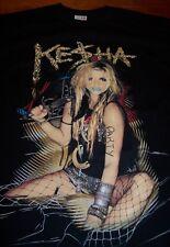 KESHA KE$HA Party T-Shirt LARGE NEW