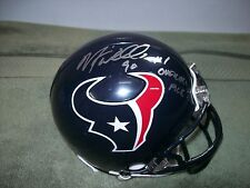 MARIO WILLIAMS HOUSTON TEXANS SIGNED MINI HELMET  W/COA
