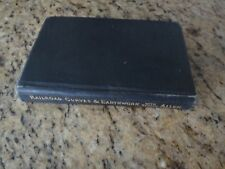 RAILROAD CURVES & EARTHWORK - ALLEN (MIT) - 7th. Edition Revised 1931