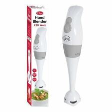Quest Hand Blender Stick 2 Speeds White 200 watt Mixer/ Smoother /Soup/Baby Food