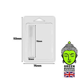 Green Buddha Packaging Cart Cartridge Plastic Blister Pack Foldable Closure UK