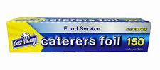 Caterers All Purpose Foil 150m x 30cm wide.  22405