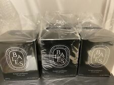 Diptyque Baies Empty Candle Glass Large Black