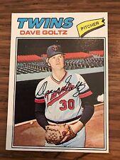 1977 Topps Dave Goltz Minnesota Twins 321