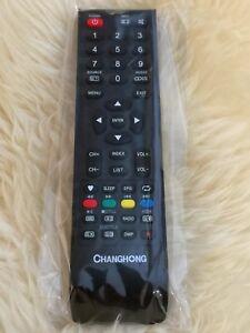 CHANGHONG ORIGINAL TV REMOTE CONTROL GCBLTV20A-C35, GCBLTV20A-C54 ALSO FOR SABA