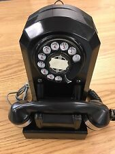 Vintage Automatic Electric A50 Antique Telephone Art Deco Juke Monophone Black