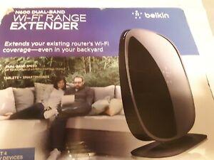 Belkin - N600 Dual Band Wi-Fi Range Extender