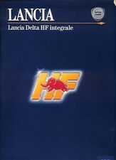 LANCIA DELTA HF INTEGRALE CAT 1993 ORIGINALE mercato britannico stampa Pack Inc. FOTO