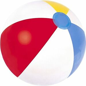 """Inflatable 24""""/61cm Sand Beach Ball Toys Kids Summer Pool Holiday Party Volley"""