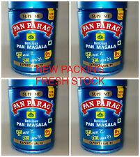 4 CANS! Pan Parag NEW PACKING 100grams Pan Paan Masala EXPORT QUAL Tin USA SELLR