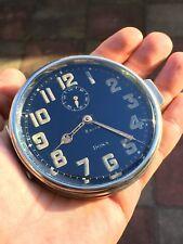 SUPERBE 1930 S DOXA voiture tableau de bord Horloge 8 jours (BUGATTI?)