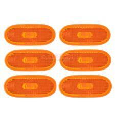 6 Mercedes Sprinter side Amber Orange Marker Lens Lamp Light Reflector 06>13 NEW