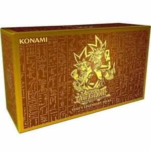 YuGiOh Yugi's Legendary Decks 1 King of Games : Reprint | Factory Sealed English