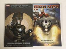 Iron Man 2.0 TPB Volume 1-2 Complete NM Near Mint Marvel Comics Nick Spencer