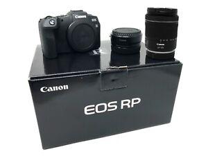 Canon RP Mirrorless Digital Camera RF 24-105 f/4-7.1 + Adapter UK NEXT DAY DEL