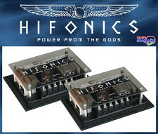 Hifonics Zeus Frequenzweichen Set aus 2 Wege ZS6.2Ci