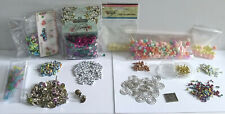 Craft Room Clear Out / Bundle - Sequins / Letter Beads / Brads etc.