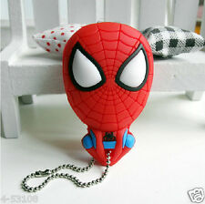 1pc Red spider-man figure creative fashion lovely cartoon silicone Nail clippers