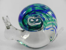 Paperweight Clear Art Glass