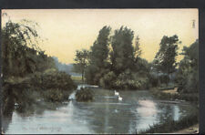 Sussex Postcard - The Park, Worthing     RS4661