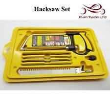Mini Metal Saw Hacksaw Set Coping Scribe Detail Metalwork Cutting Tool Hobby