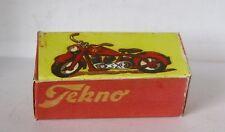 Repro Box Tekno Nr.761 Motorrad, Motorrad mit Beiwagen