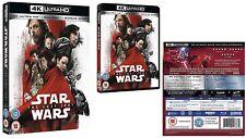 Star Wars The Last Jedi 4k UHD Blu-ray 2017