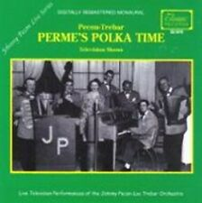 Johnny Pecon Lou Trebar Perme's Polka Time Brand New LIVE Polka CD CLASSIC Great